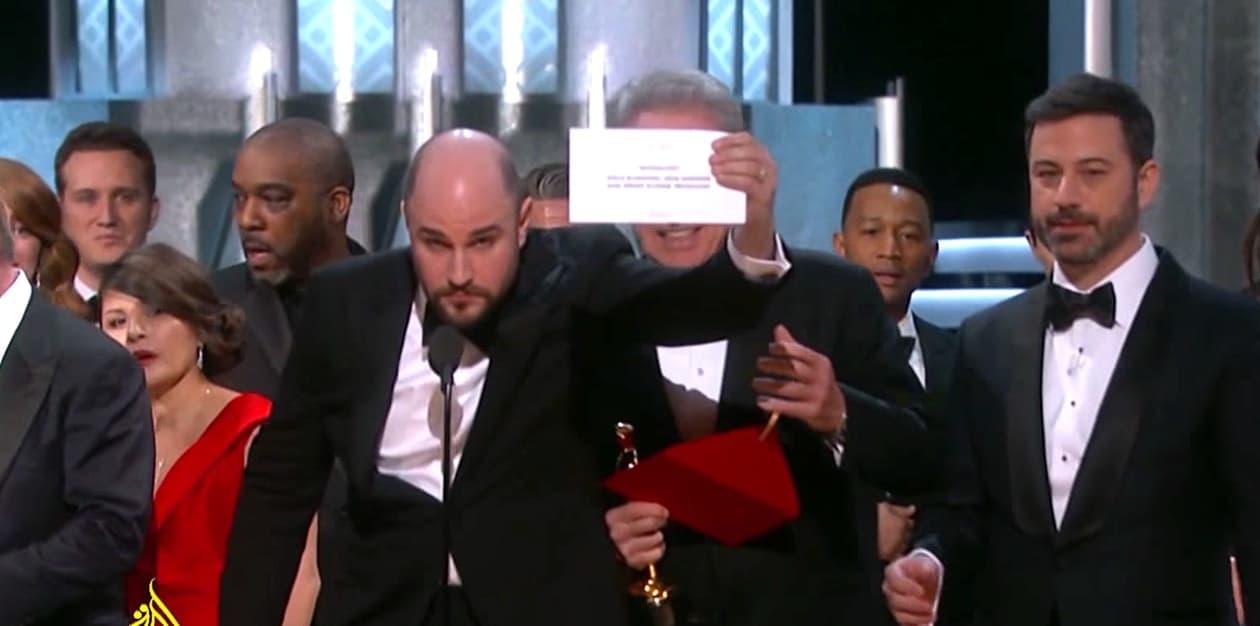 Oscar flub