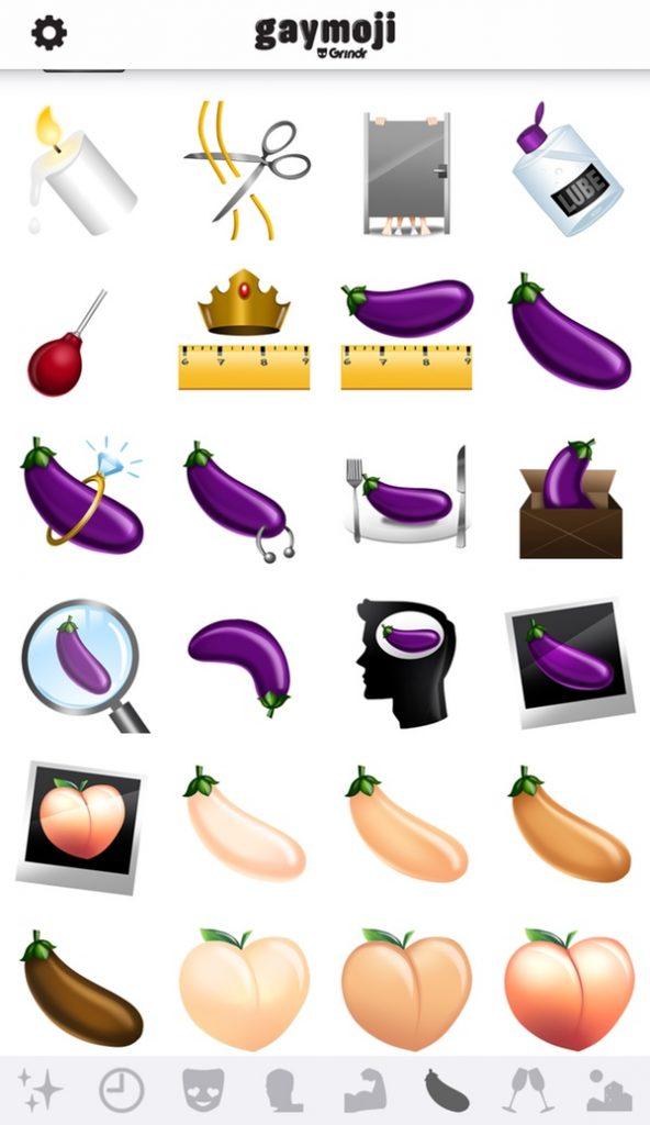 Grindr App Rolls Out Gaymoji Icons - Towleroad Gay News