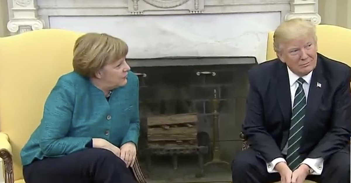Merkel handshake
