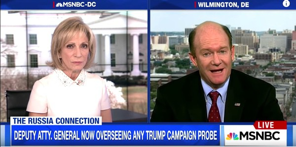 Andrea Mitchell Chris Coons