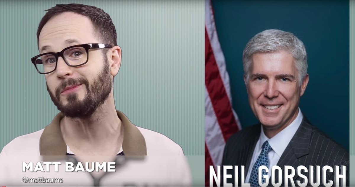 Matt Baume Neil Gorsuch LGBT