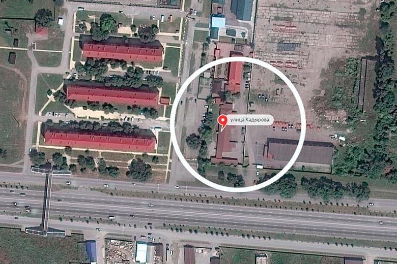 Chechnya secret prison