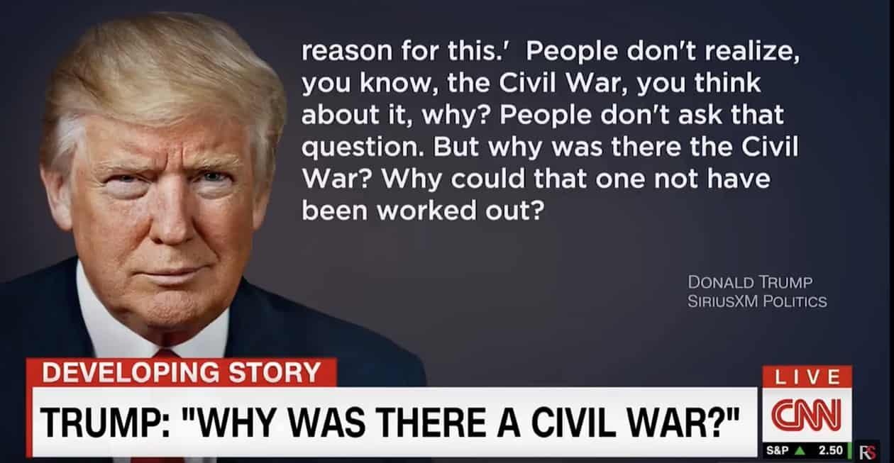 civil war trump