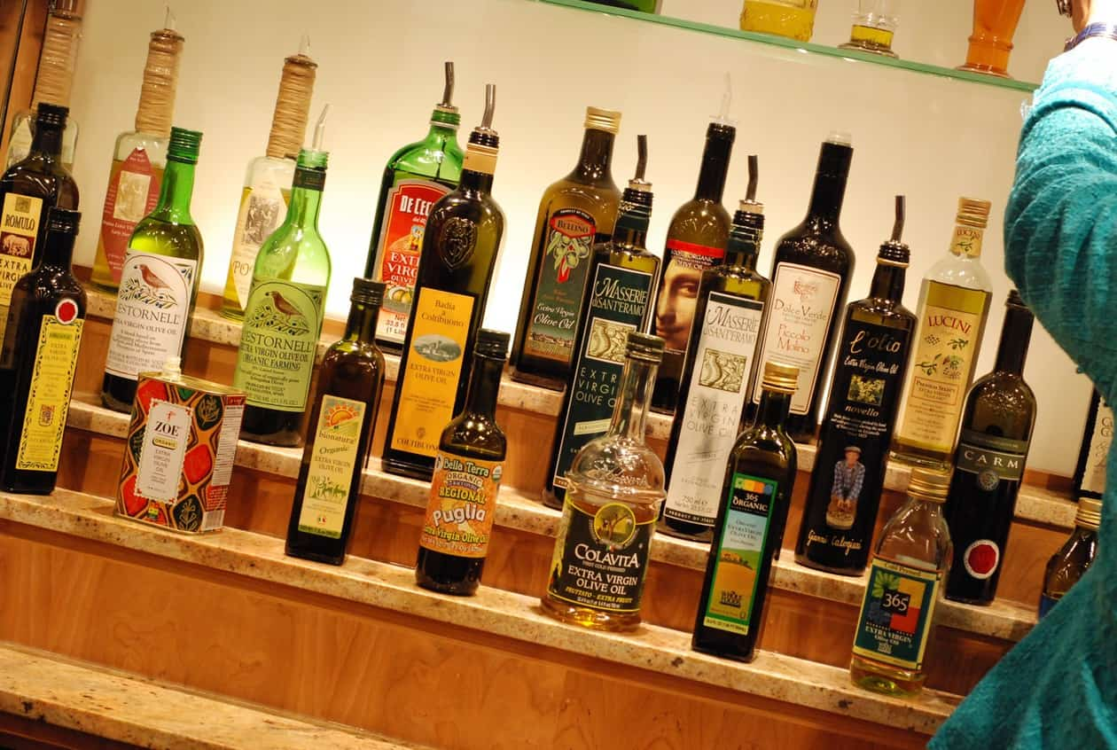 olive oil bar
