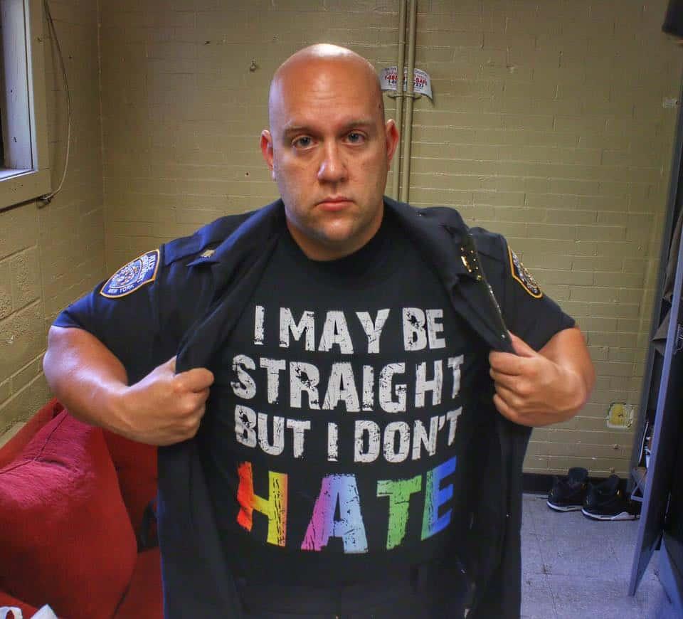 straight cop