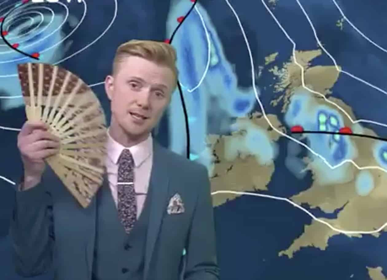 drag weather forectast