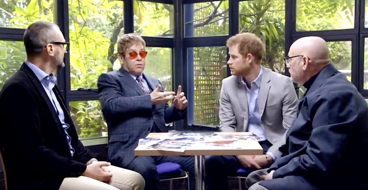 Elton John Prince Harry