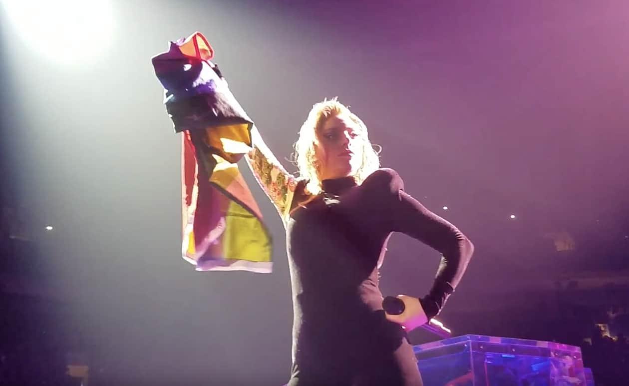 rainbow flag gaga