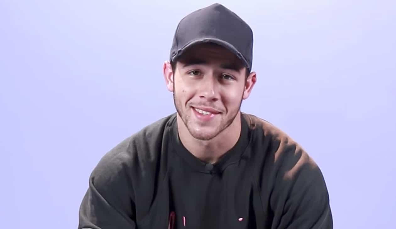 Nick Jonas choking