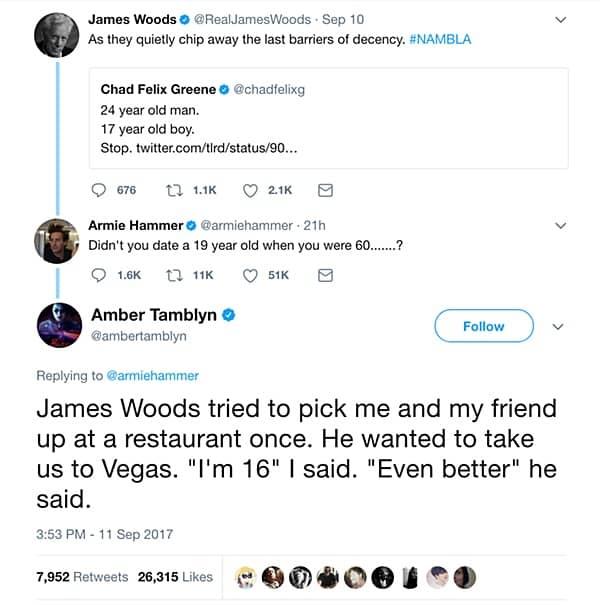 Tamblyn tweet