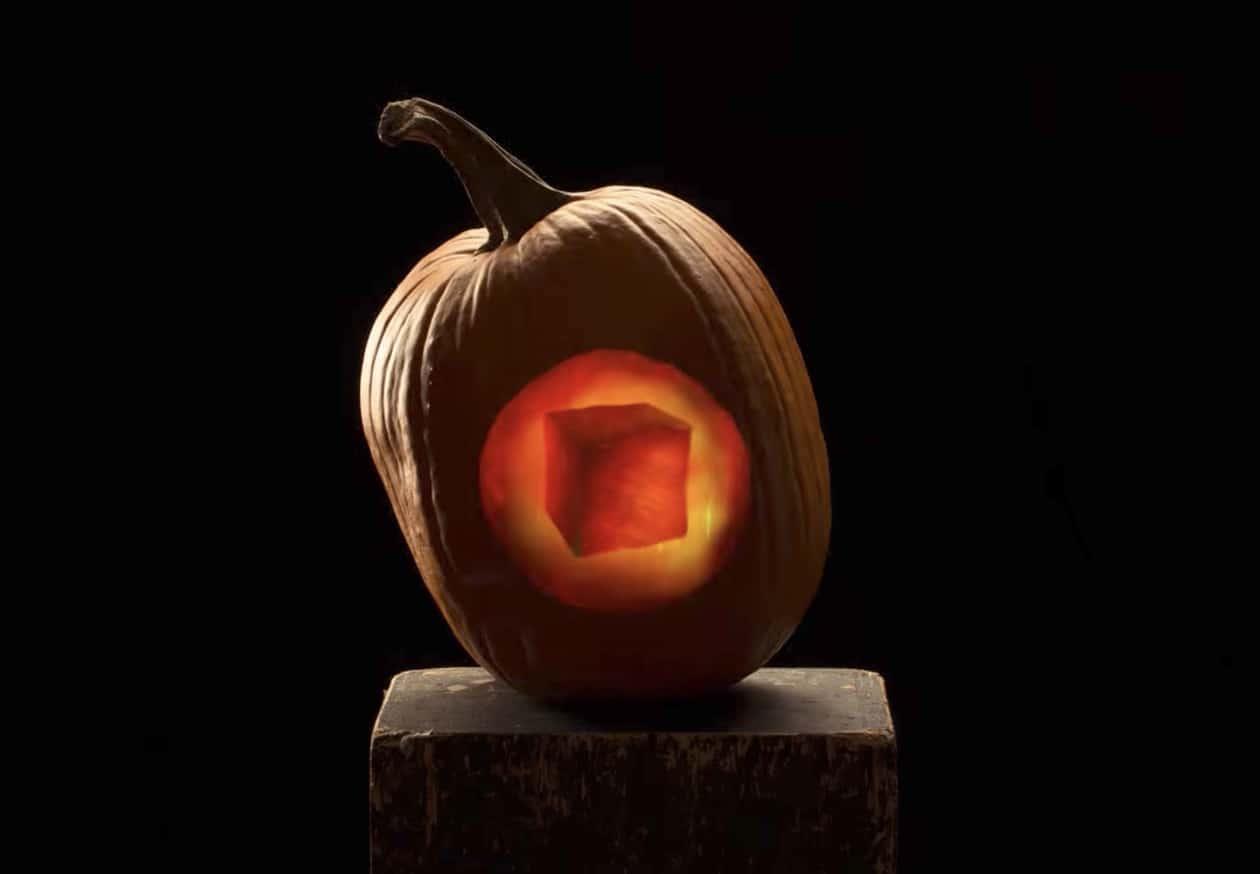 halloween stop motion pumpkin