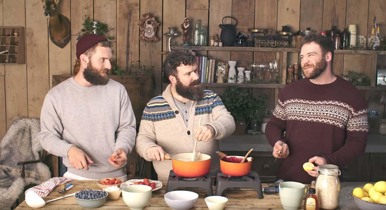 three gay bears