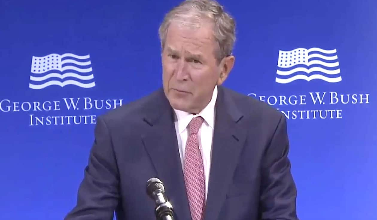 George w Bush Trump