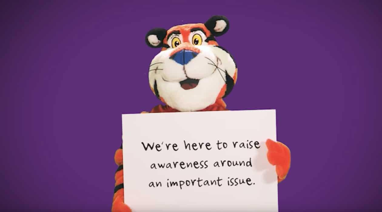 Tony the Tiger Spirit Day