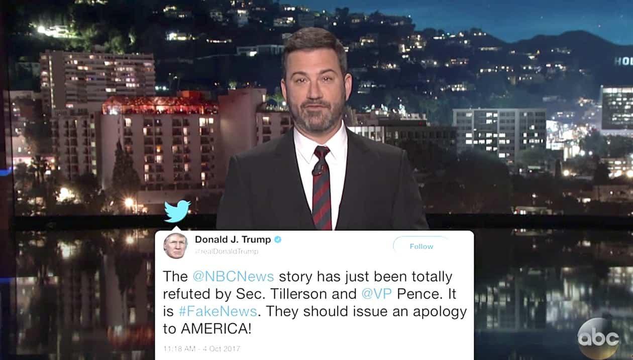 Tillerson Kimmel