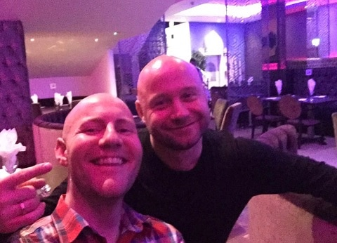 Greig Fairweather and Shaun Smith