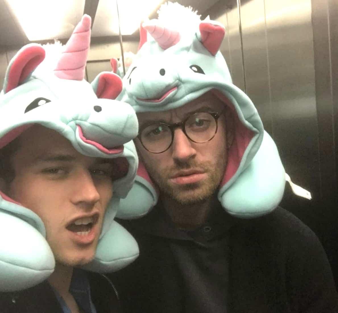 Brandon Flynn Sam Smith unicorn
