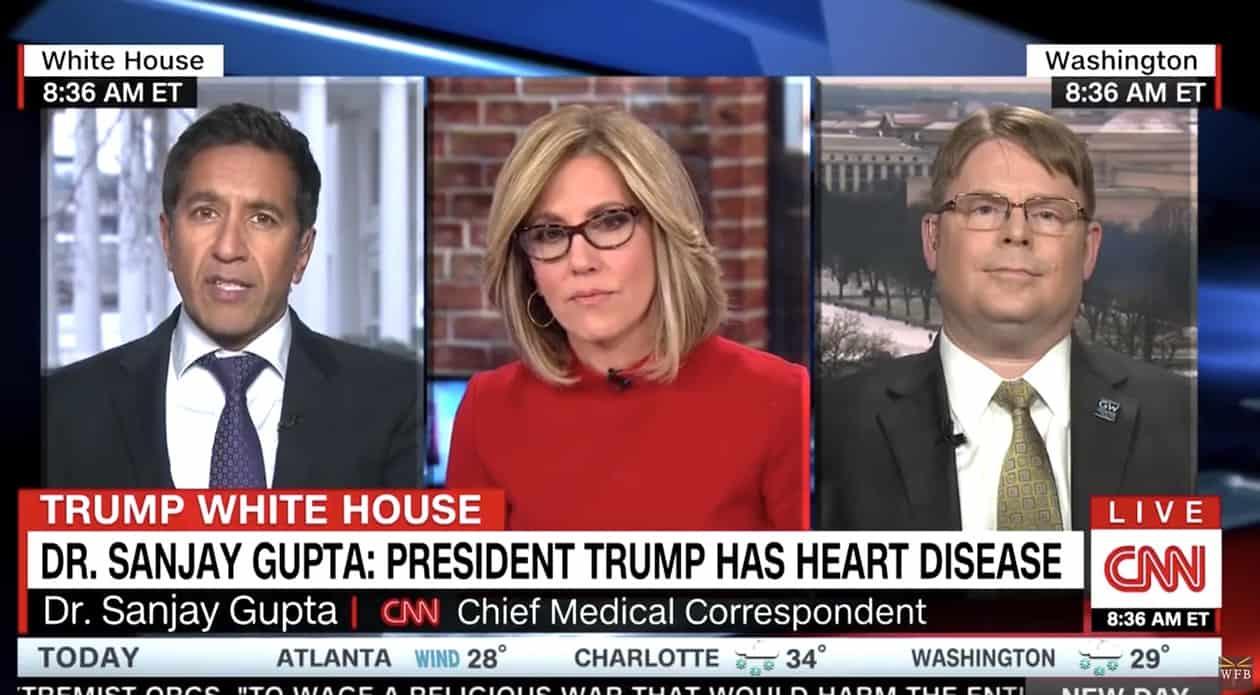 trump heart disease