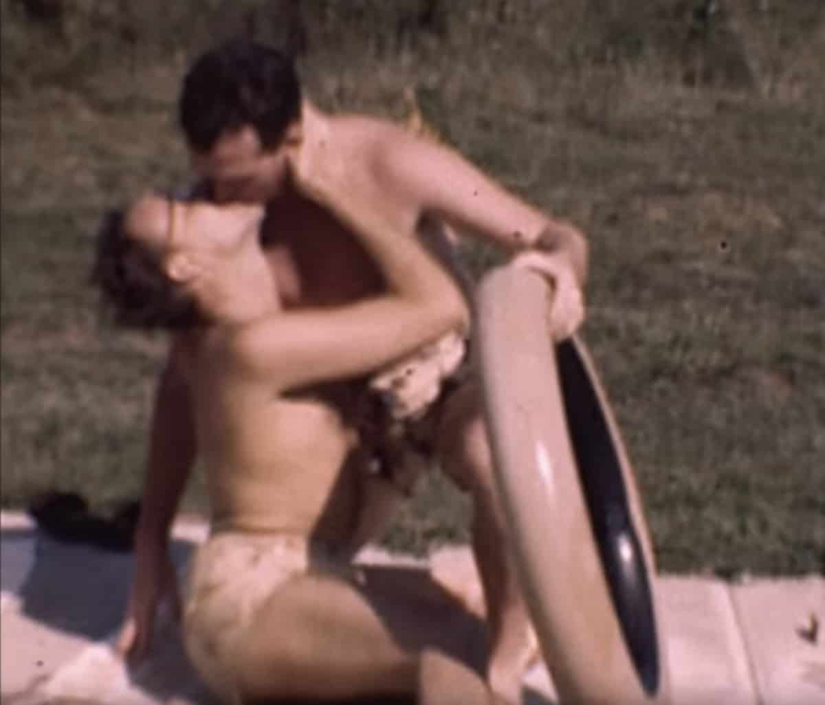 gay pool party 1945