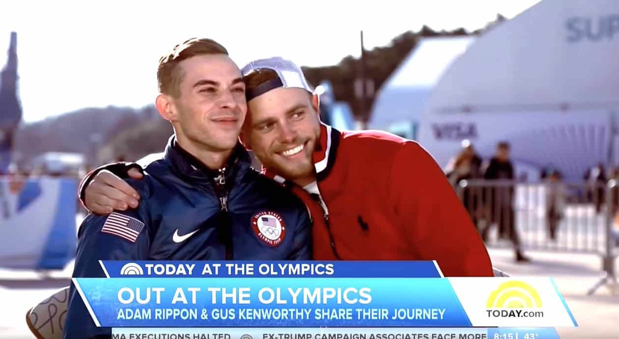 rippon single girls After dazzling the figure-skating world, adam rippon said he would recommend the winter olympics: it's, like, pretty awesome.