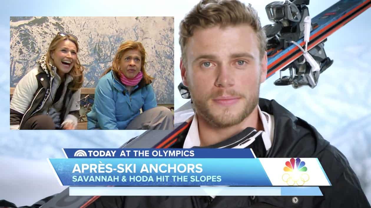 gus kenworthy ski lesson