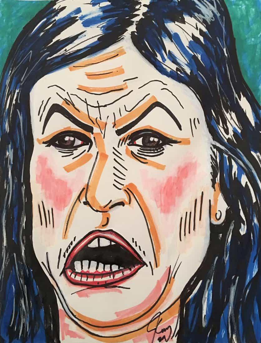 jim carrey portrait