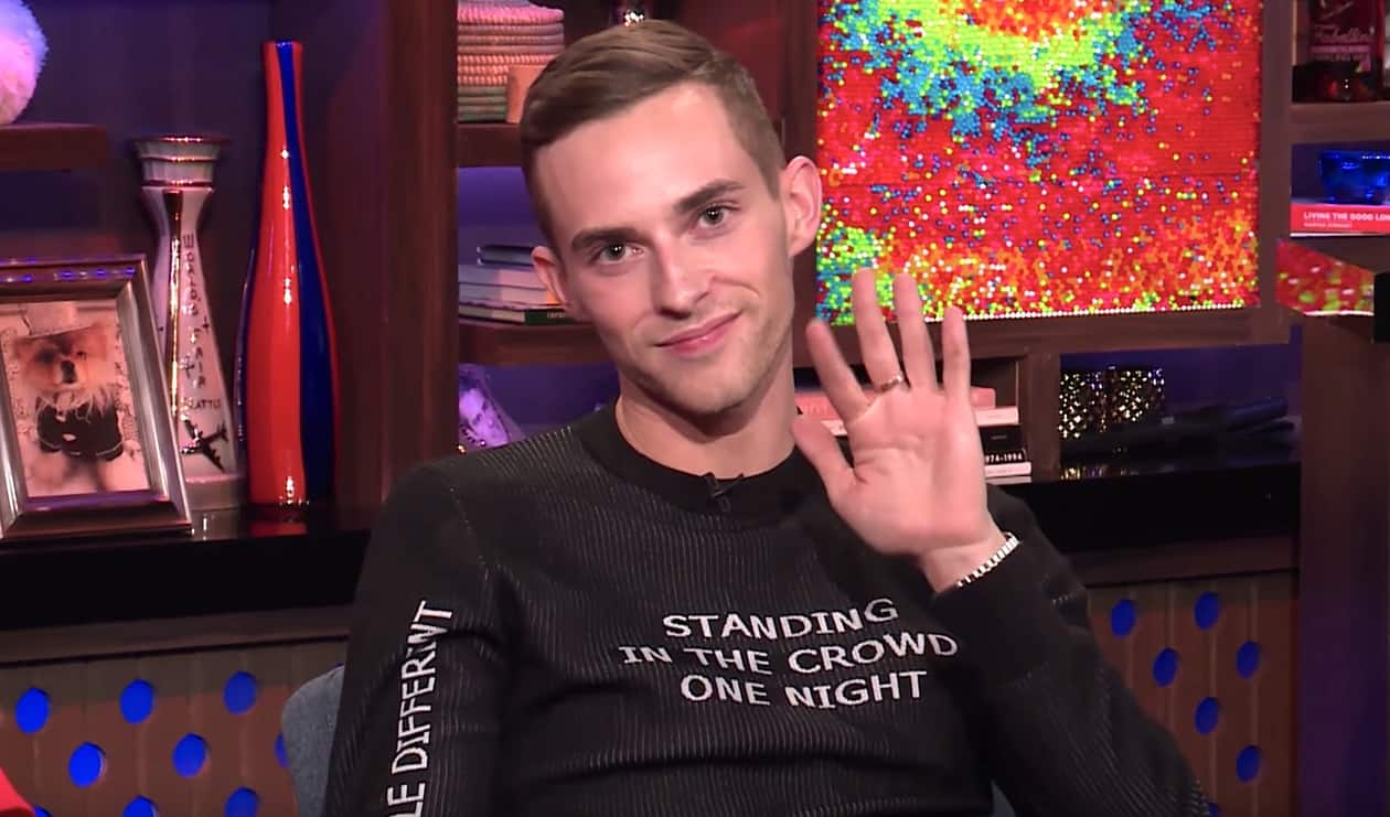 Andy Cohen Adam Rippon
