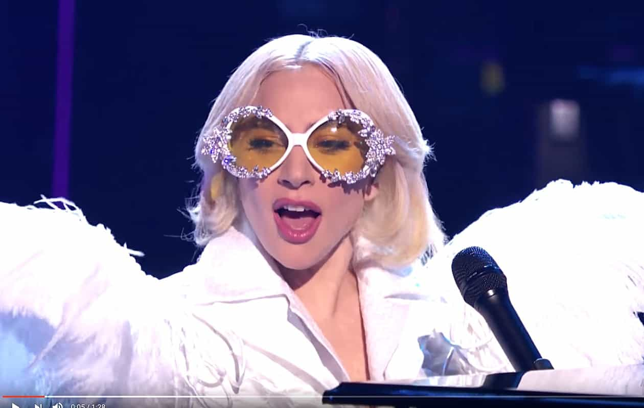 Lady Gaga Covers 'Your Song' in Tribute to Elton John ...
