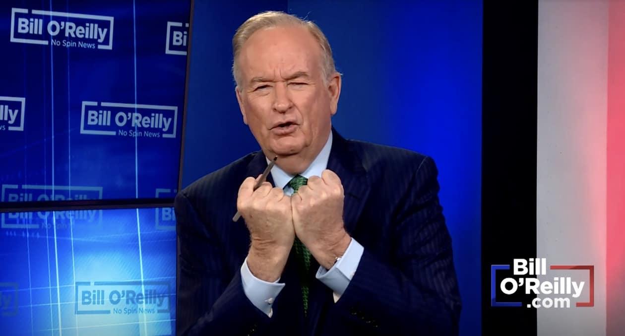 Bill O'Reilly whiteness