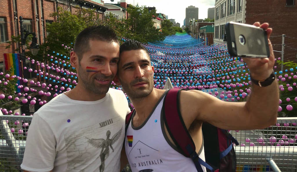 Montreal gay village