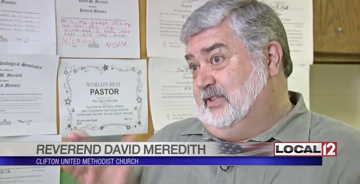 gay minsiter david meredith