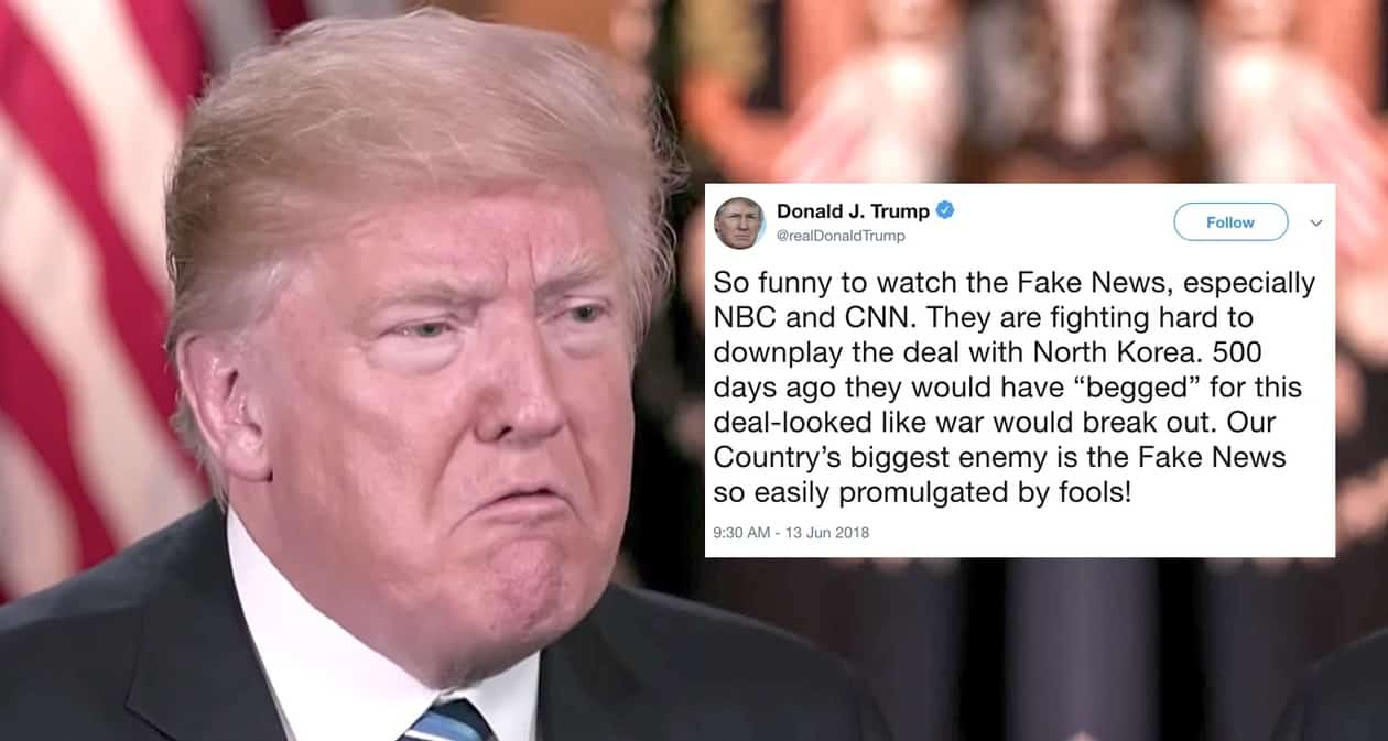 Trump: CNN and NBC are 'Our Country's Biggest Enemy ...