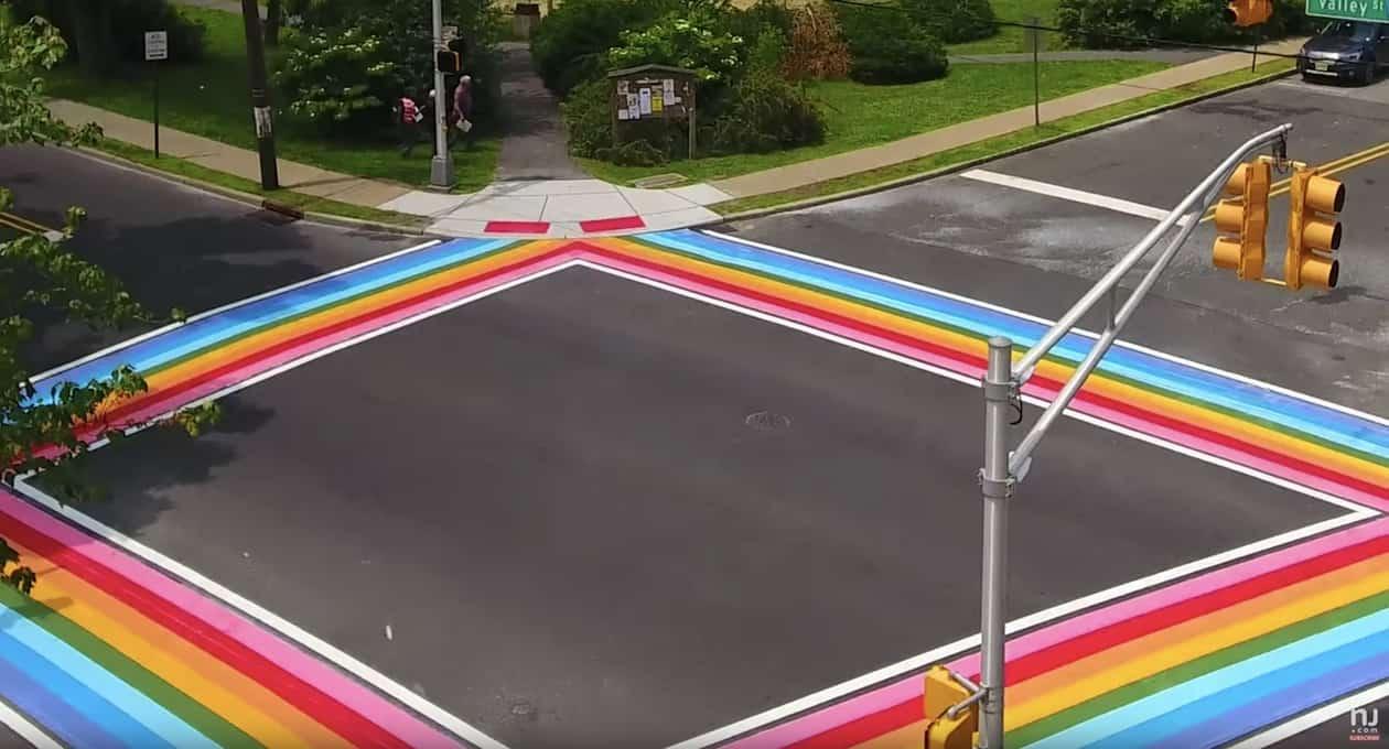maplewood rainbow crosswalks
