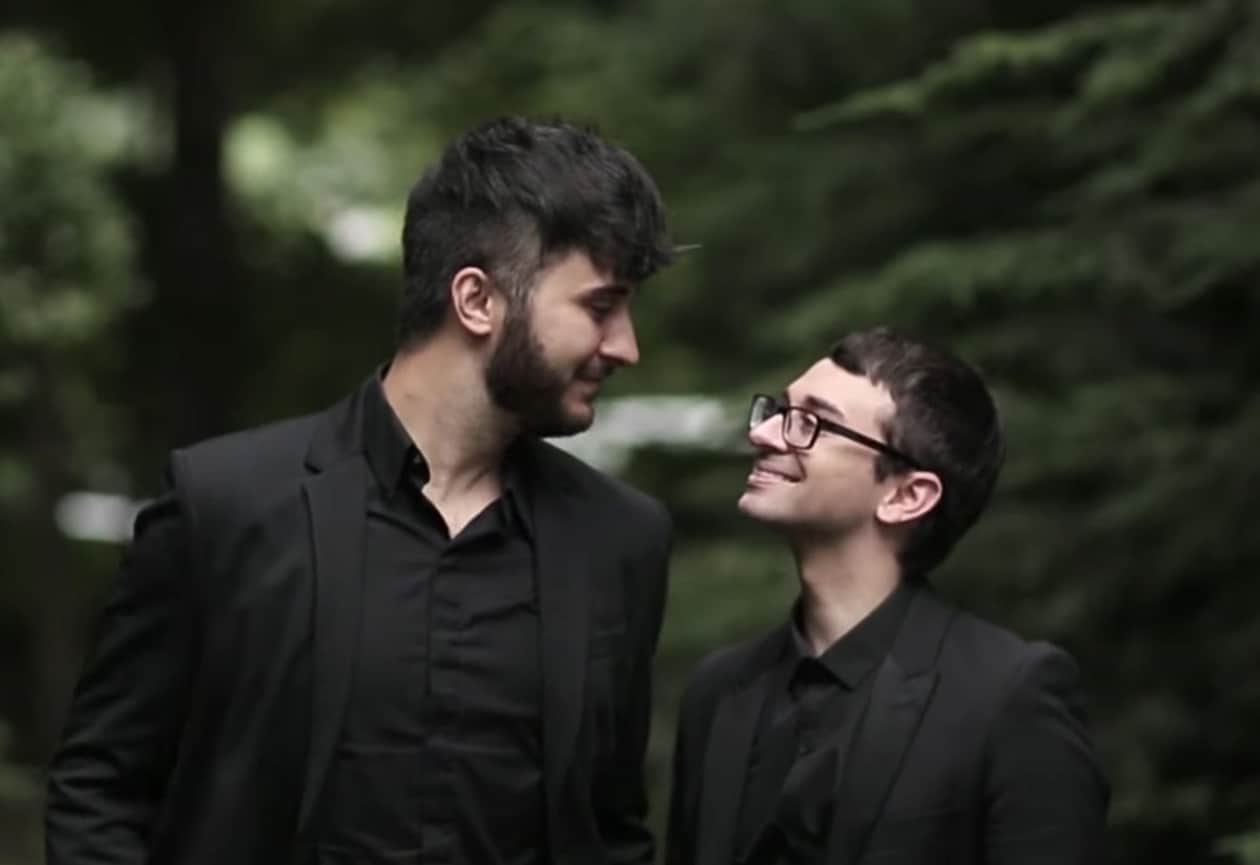 against argument gay getting married