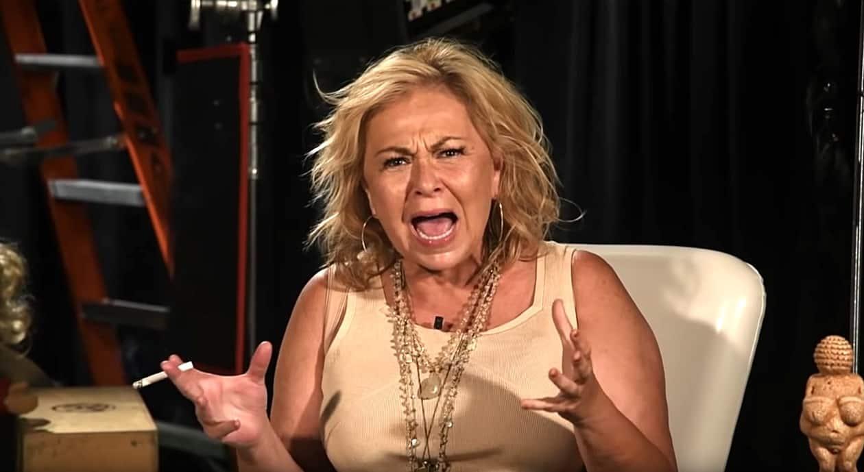 Roseanne Barr explodes