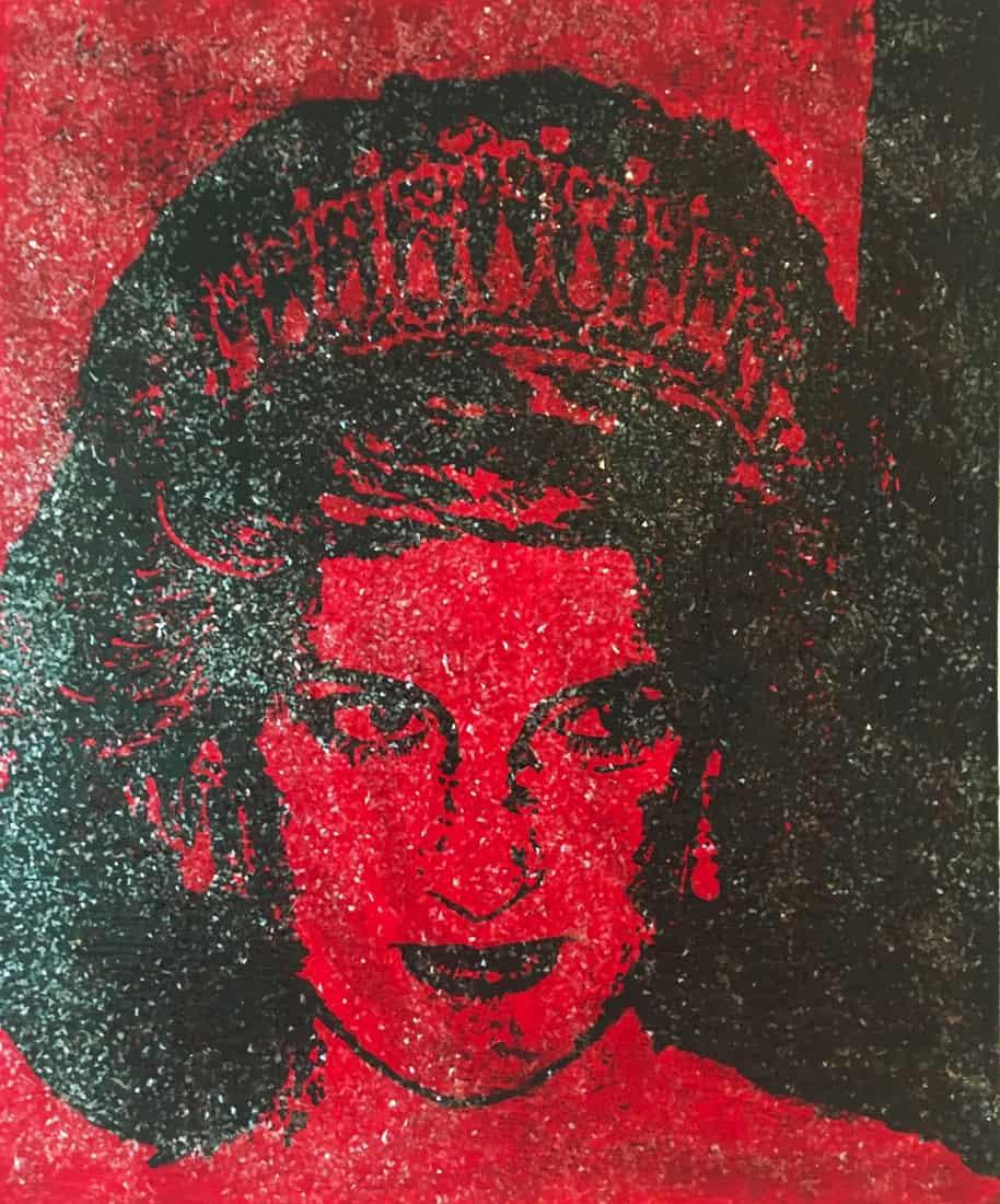 diana blood portrait