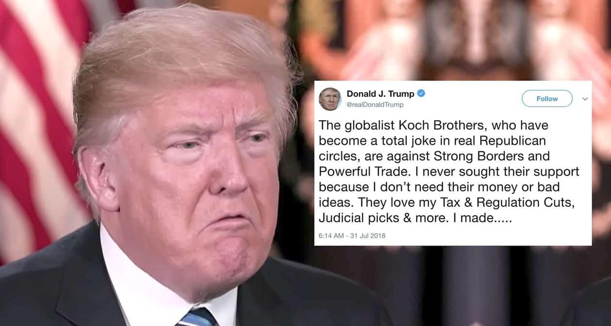 trump koch brothers