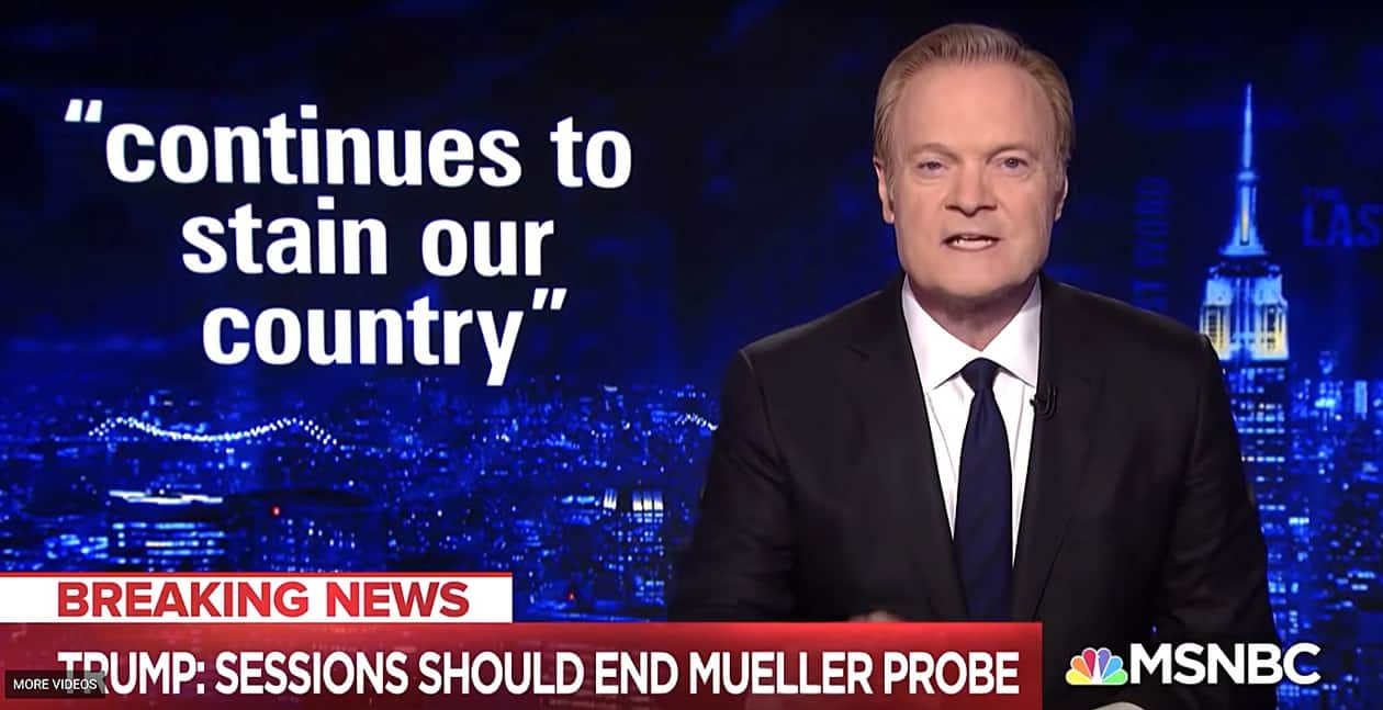 lawrence o'donnell fifth avenue moment