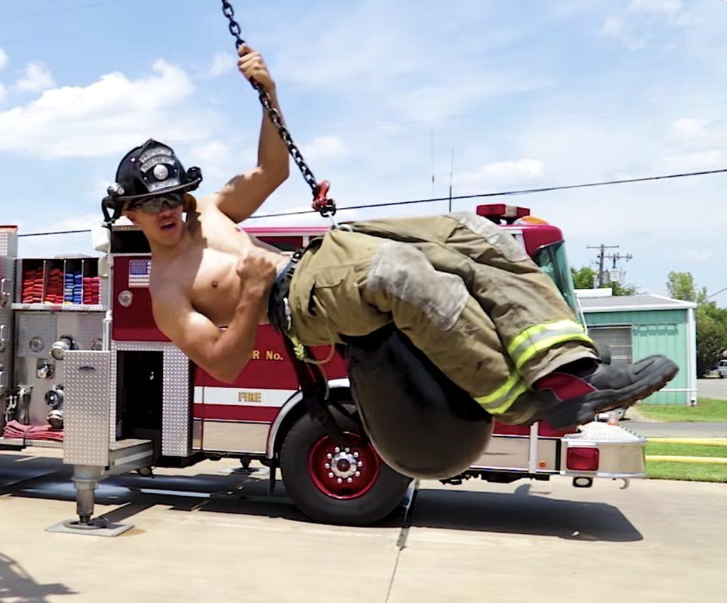 firefighter lip sync