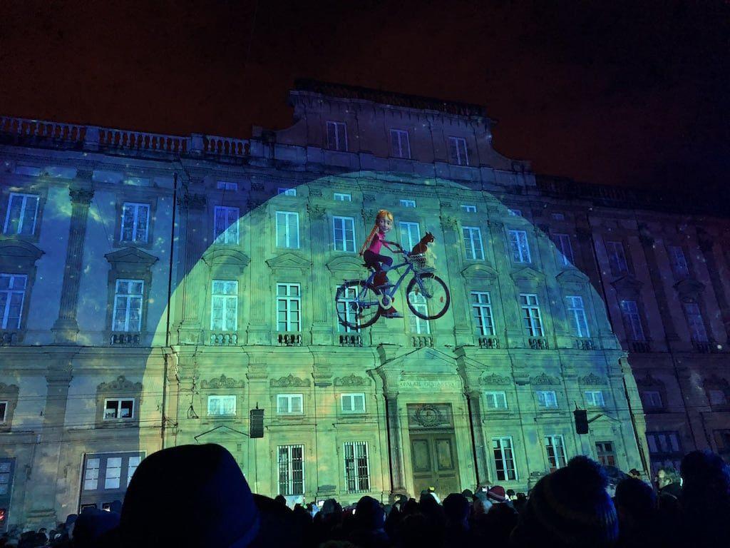 Lyon Light Festival display