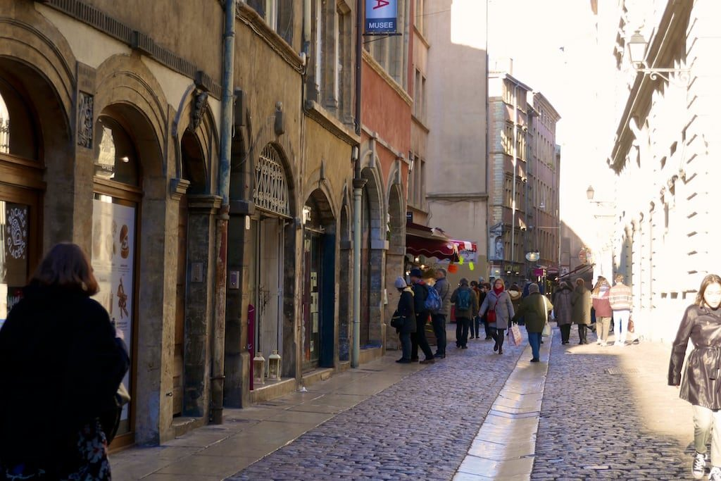 The streets of Vieux Lyon
