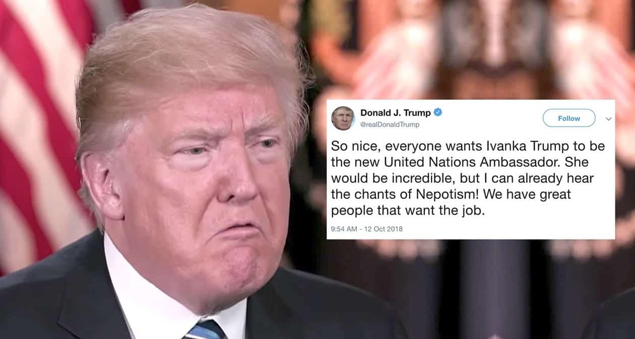 Ivanka Trump UN