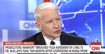 Anderson Cooper frickin