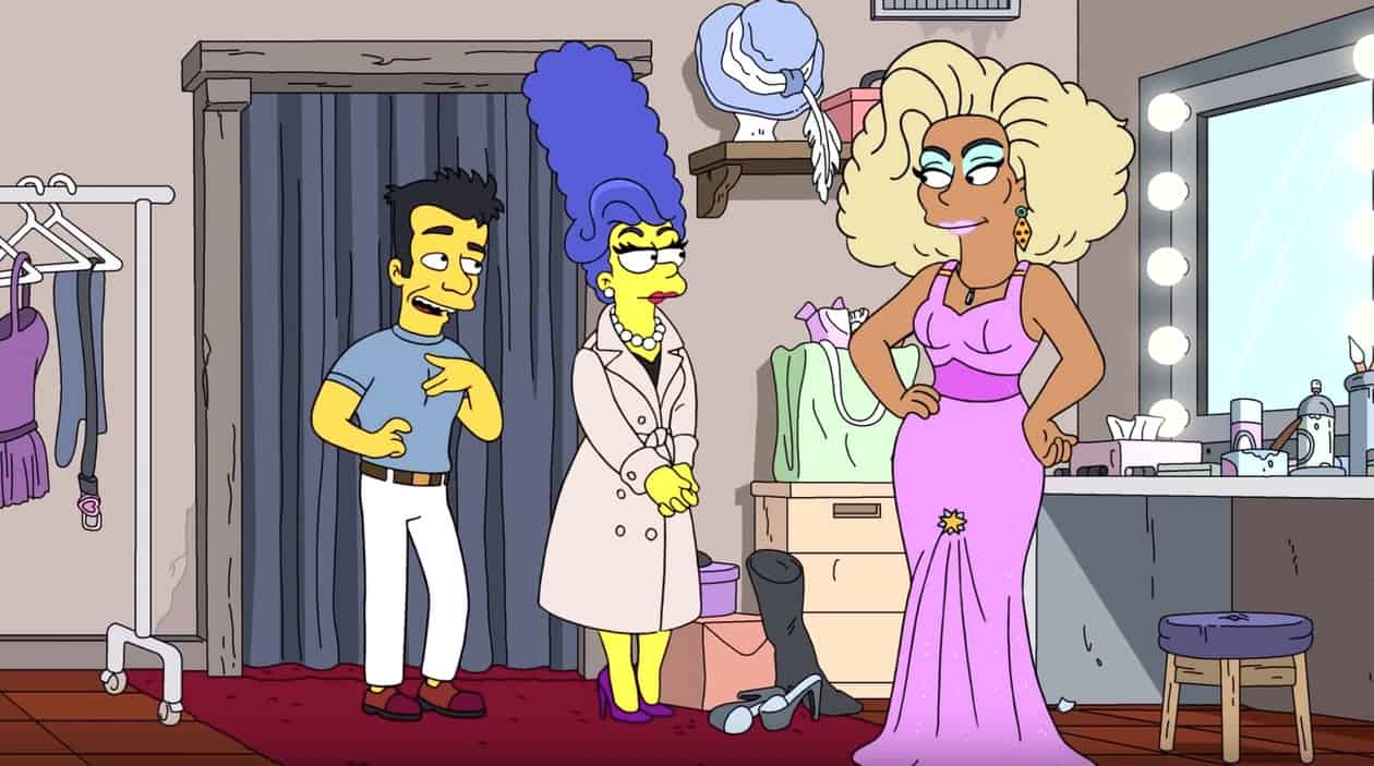 RuPaul Simpsons