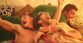gay Burning Man Michael and Michael are Gay