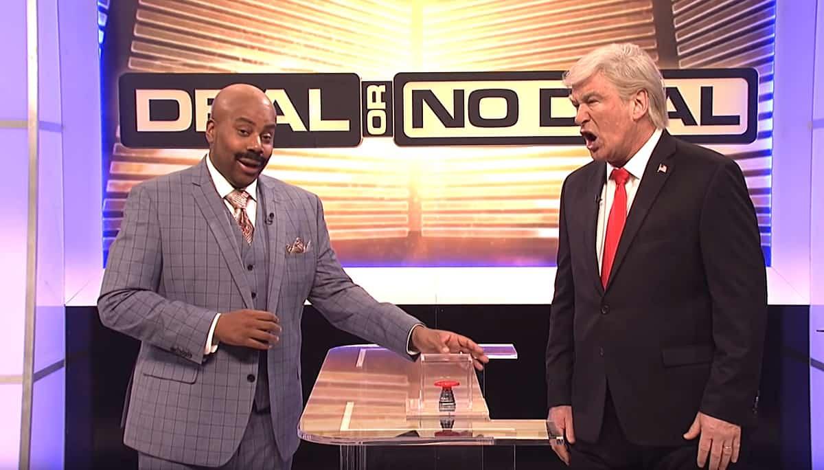 Deal or No Deal SNL Alec Baldwin Kenan Thompson