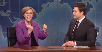 Kate McKinnon's Elizabeth Warren