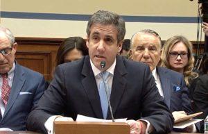 Michael Cohen testimony