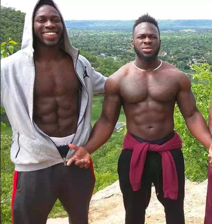 ABel and Ola Osundairo brothers Jussie Smollett
