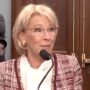 Outgoing Education Secretary Betsy DeVos Urges Career Staffers to 'Be the Resistance' Against the Biden Administration